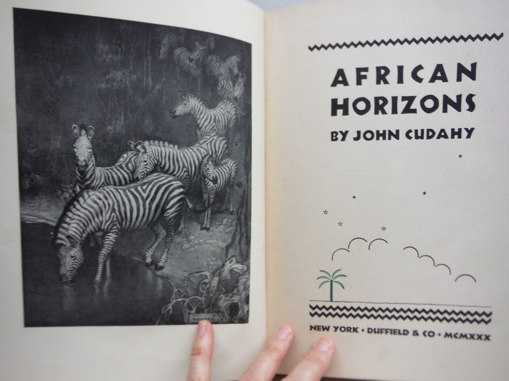 Image 1 of African Horizons,