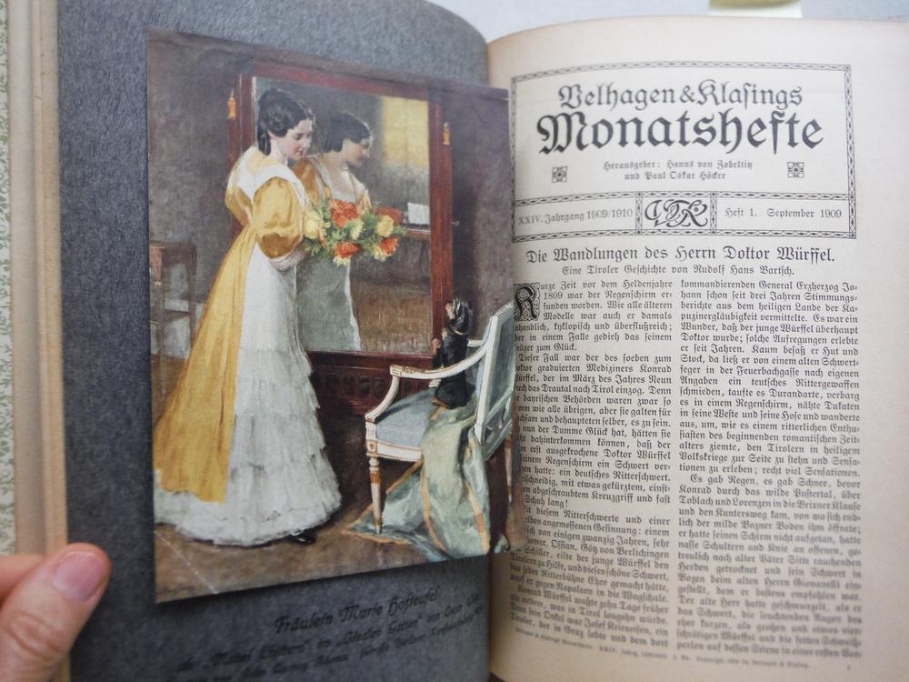 Image 2 of Velhagen & Klasings Monatshefte - XXIV Jahrgang 1909/1910 -1. Band