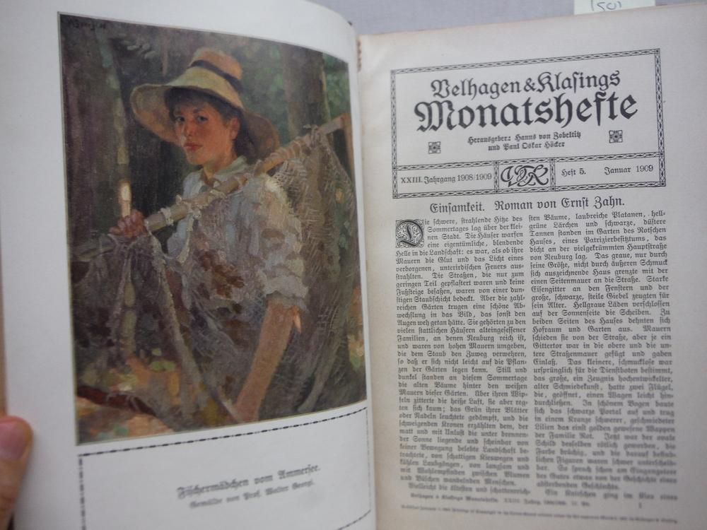 Image 2 of Velhagen & Klasings Monatshefte - XXIII Jahrgang 1908/1909 -2. Band