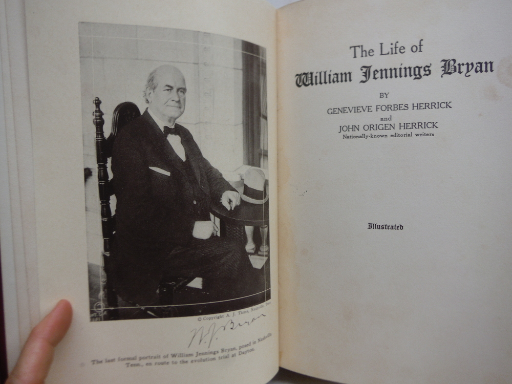 Image 1 of TheLife of William Jennings Bryan,
