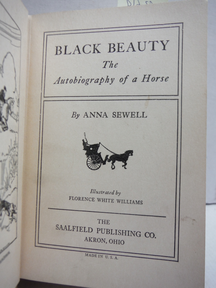 Image 1 of BLACK BEAUTY the Autobiography of a Hourse