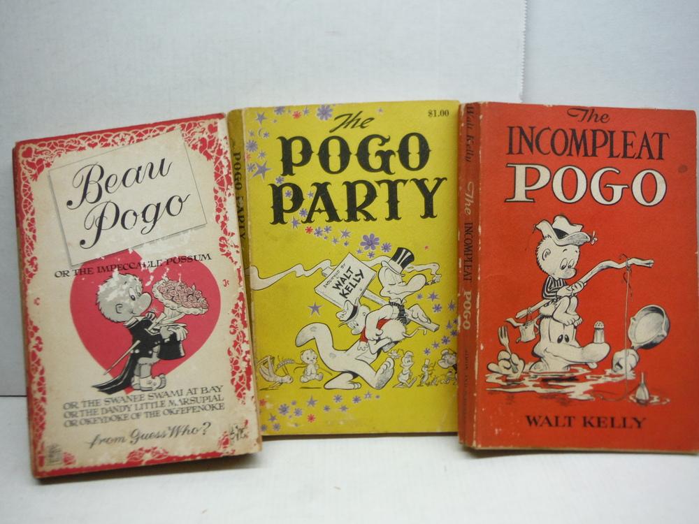 Image 3 of Pogo Paperbacks - 6 Volumes - 1954 - 1963