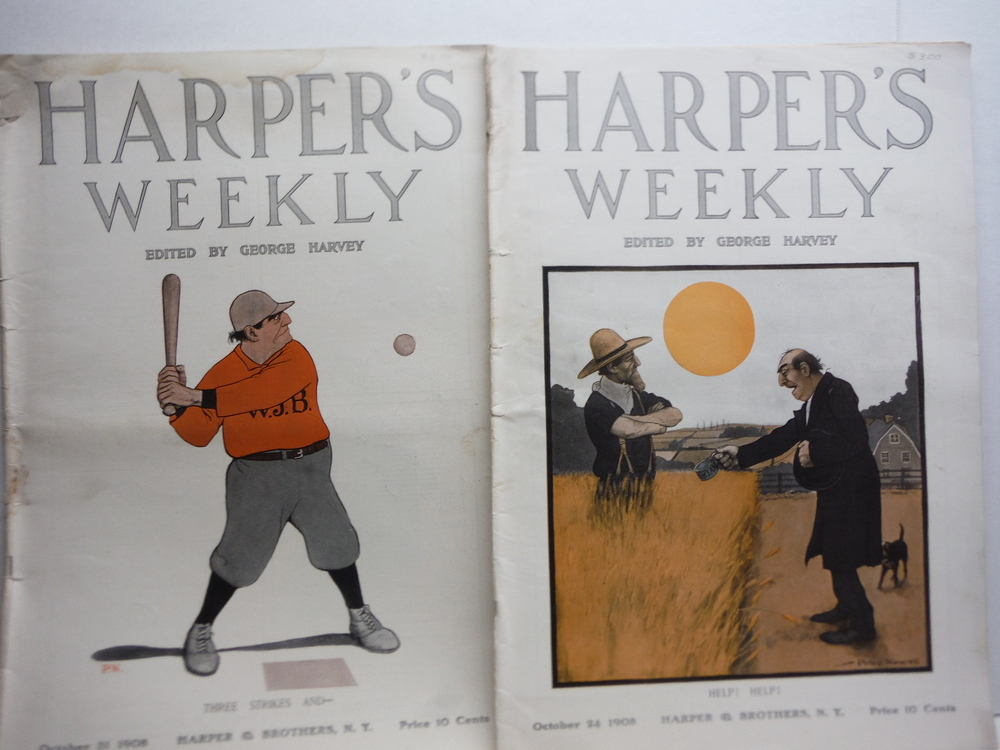 Image 3 of HARPER'S WEELY Vol. XLII - Ten Consecutive Issues Sept. 26, 1908 -  Dec..5, 1908