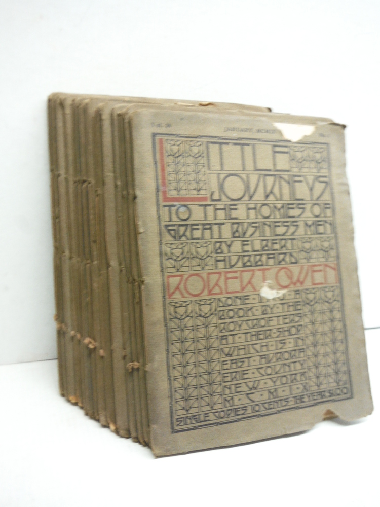 Image 0 of Little Journeys to the Homes of Great Business Men -  15 issues (1909)
