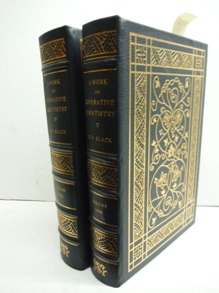Image 0 of A work on operative dentistry / By G. V. Black. [complete in 2 volumes]