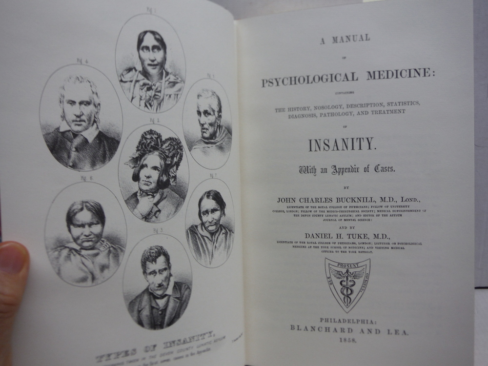 Image 2 of A MANUAL OF PSYCHOLOGICAL MEDICINE Gryphon Editions