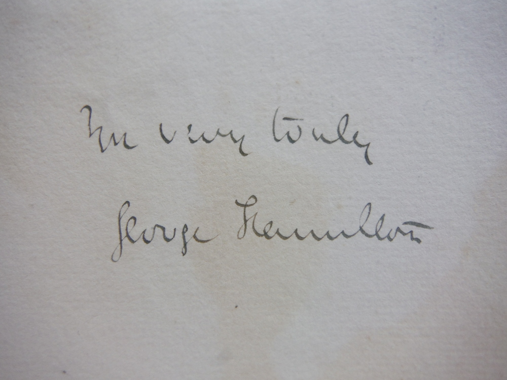 Image 1 of 1888: GEORGE FRANCIS, LORD HAMILTON HANDWRITTEN LETTER