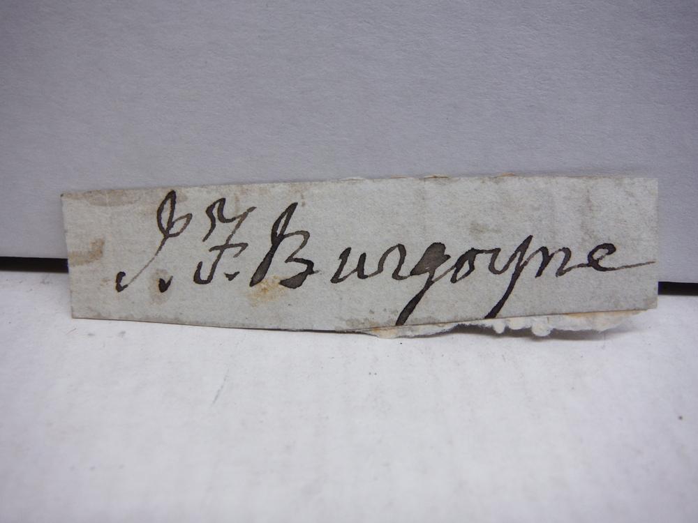 SIR JOHN FOX BURGOYNE (1782-1871) ORIGINAL SIGNATURE  CRIMEAN WAR