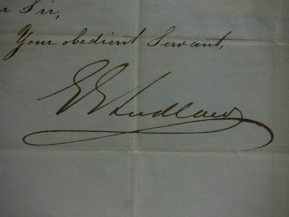 Image 1 of 1847: EAST INDIA HOUSE LETTER REGARDING PAYMENT TO DECEASED SOLDIER OF BENGAL AR