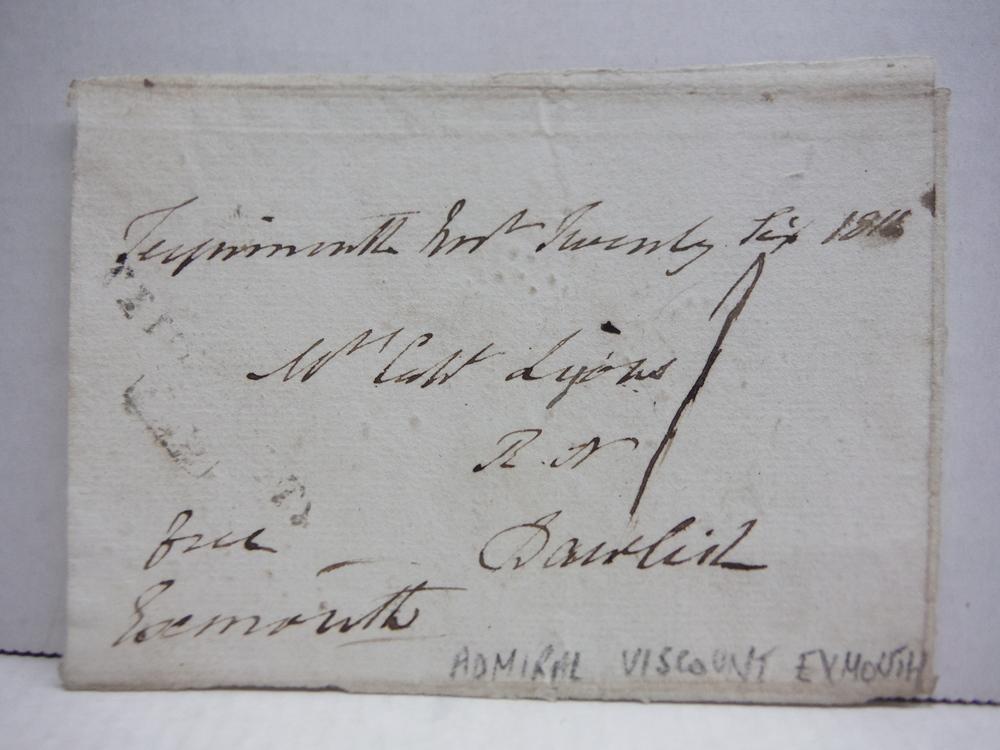 1815: EDWARD PELLEY, 1ST VISCOUNT EXMOUTH