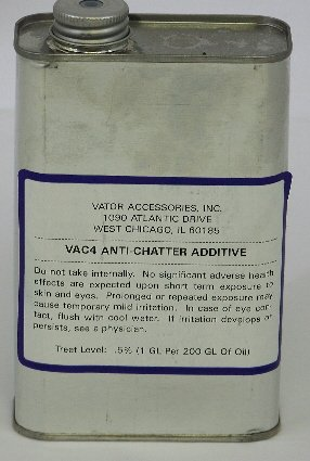 VAC-4 Anti-Chatter Hydraulic Oil Additive