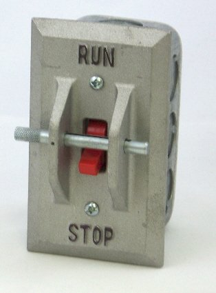PS-1AL Elevator Pit Switch with Cast Aluminum Cover and Lockout
