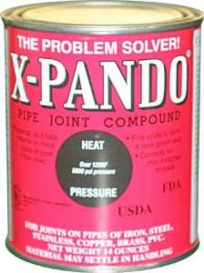 Image 0 of X-Pando Pipe Joint Compound 14 oz. can
