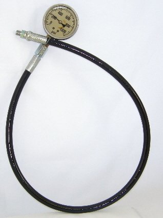 Image 1 of LPG-Hose 3 feet with 1/8'' MNPT and 1/4'' FNPT Fittings