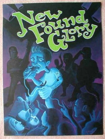 Image 0 of NEW FOUND GLORY DVD POSTER The Disaster: Live In London