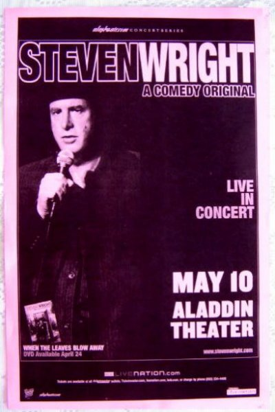 Image 0 of Wright STEVEN WRIGHT 2007 Gig POSTER Portland Oregon Comedy