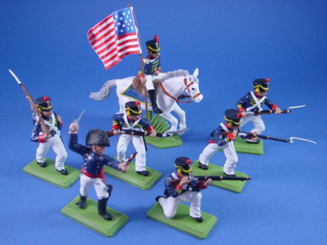 Britains Deetail DSG Toy Soldiers War of 1812 US Marines USMC