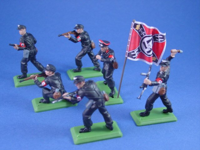 Britains Deetail DSG WWII German SS Toy Soldiers Battlefield Legends Toy Soldiers Store