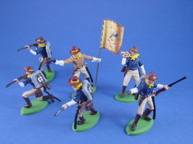 Battlefield Legends Toy Soldiers Store US Rough Riders Spanish American War