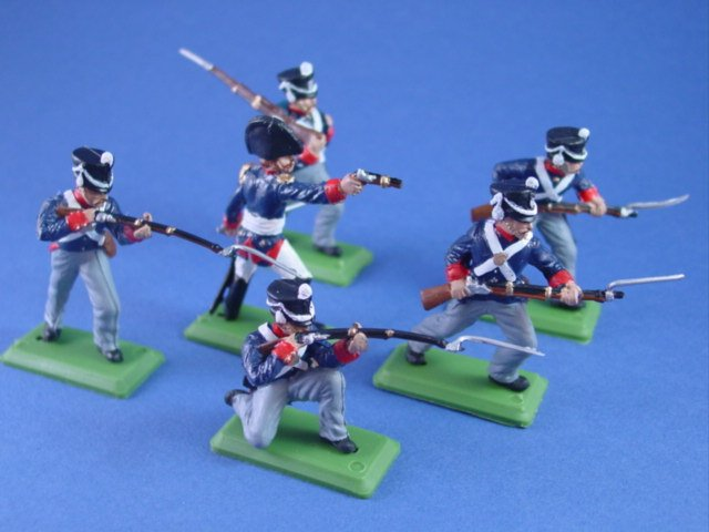 Britains Deetail DSG Toy Soldiers War of 1812 US Regulars