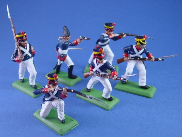 Britains Deetail DSG Toy Soldiers Battle of the Alamo Mexican Infantry