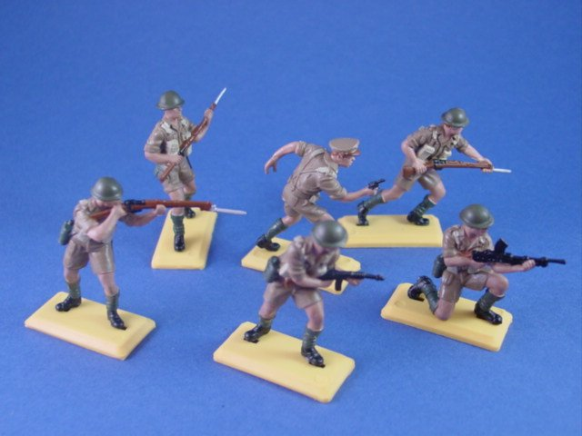 Britains Deetail DSG Toy Soldiers WWII Canadian Infantry