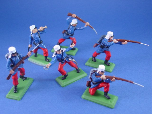 Britains Deetail DSG Toy Soldiers French Foreign Legion 1914