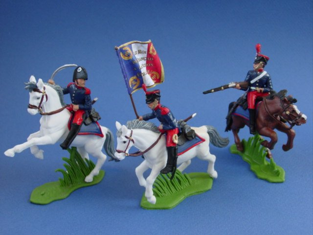Britains Deetail DSG Toy Soldiers French Foreign Legion Dragoons 1831