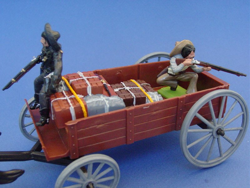 Britains Deetail DSG Toy Soldiers Mexican Bandits Supply Wagon