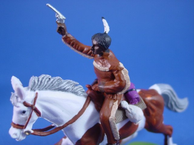 Britains Deetail DSG Toy Soldiers Custom Tonto on Scout