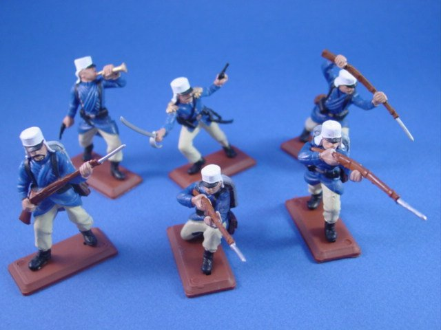 Britains Deetail DSG Toy Soldiers French Foreign Legion 1915