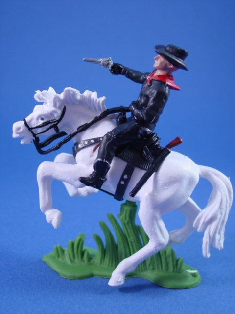 Britains Deetail Toy Soldiers Western Hero Hopalong Cassidy with his Trusty Mount Topper
