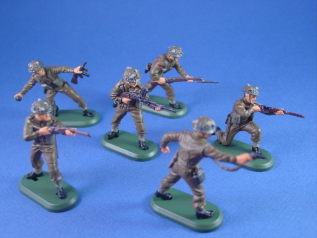 Britains Super Deetail Plastics WWII British Infantry Set